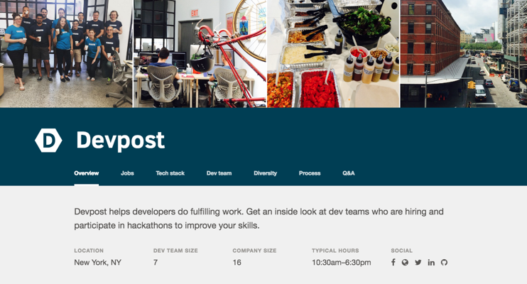 Devpost team page crop